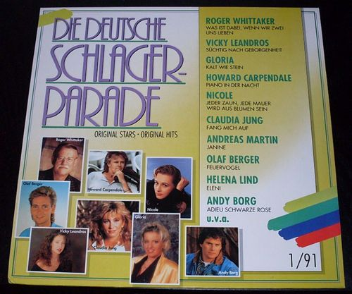 LP_016 Die deutsche Schlagerparade !/1991 u.a. Howard Carpendale