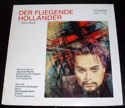 "LP_014 Richard Wagner ""Der fliegende Holländer"""