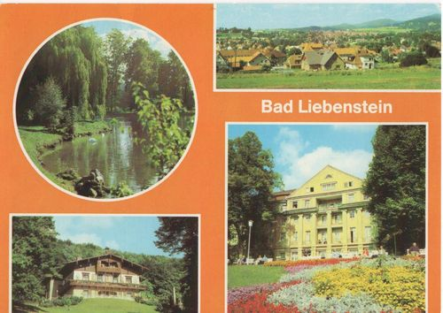TH_049 AK DDR Bad Liebenstein Kreis Salzungen